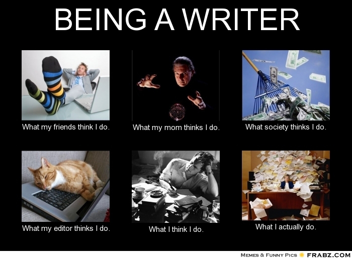 Writers how do you...?